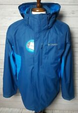 Columbia Rockaway Mountain Interchange 3-in-1Jacket Men's L NWOT Omni Tech