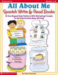 All About Me Spanish Write & Read Books