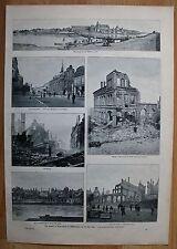 Original 1800-1899 Ansichten & Landkarten aus Polen