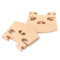 3PCS 4/4 Full Size Violin / Fiddle Bridge Maple`US
