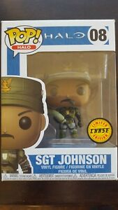 Halo Funko Pop!  Chase Sgt Johnson #08