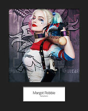 MARGOT ROBBIE (Suicide Squad - HARLEY QUINN) #1 Signed 10x8 Mounted Photo