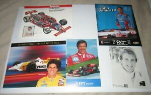 Lot of Indy Car Race Driver Postcards (Set of 20 all different)