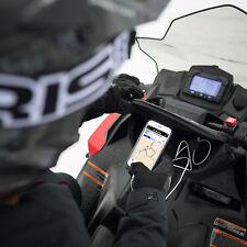 New 2883786 Polaris Snowmobile Handlebar Bag w/ Phone Charger - TP/CO