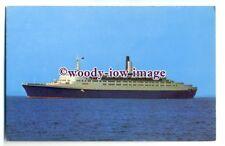 LS0475 - Cunard Liner - Queen Elizabeth 2 - postcard