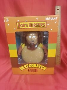 Kidrobot Bob's Burgers Beefsquatch Gene Medium 7 Inch Vinyl Figure