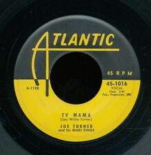 45bs-R&B-ATLANTIC 1016-Joe Turner (w/Elmore James)-TV Mama