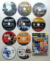 Playstation 1, 2 ,3 and Xbox Video Games Lot of 11 (Disc Only)