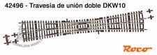 ROCO 42496 H0 Travesía de unión doble DKW10  - NUEVO (C125)
