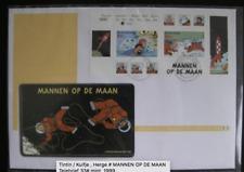 Tintin / Kuifje , Herge # MANNEN OP DE MAAN Telebrief 33# mint, 1999