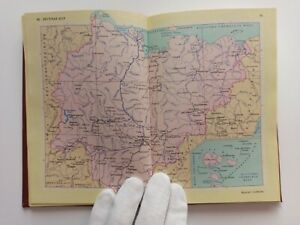 VTG Soviet book Atlas of roads of the USSR Road map of the USSR beautiful RARE