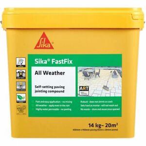 Sika Fast Fix | Self Setting Jointing Compound | Pave Fix Plus | 5 Colours