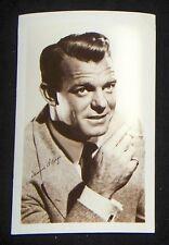 Dennis O'Keefe 1940's 1950's Actor's Penny Arcade Photo Card