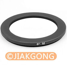67mm-52mm 67-52 Step Down Filter Ring Stepping Adapter