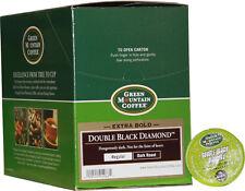 Green Mountain Coffee ~Double Black Diamond XBold~ (24) Keurig K-Cups Dk Roast