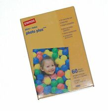 Staples Photo Plus Gloss Paper 4 x 6 ~ 60 Sheets NEW NIP