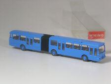 neuwertig: Wiking Mercedes O 305 G Gelenkbus himmelblau