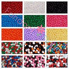 4mm Sugar Pearls Cupcake Wedding Bead toppers Sprinkles Gumpaste Fondant Dragees