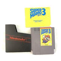 Super Mario Bros 3 (Nintendo Entertainment System NES) Tested Authentic