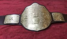 WWF BIG GOLD CHAMPIONSHIP BELT IN 4MM BRASS PLATED !