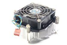 CPU Disipador de Calor Aluminio Zócalo Socket 775 Ventilador Enfriador 4 Pines