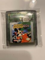 Mickey's Speedway USA Gameboy Color Game