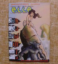 Comic, e.l.l.e., Edición Limitada, Número único, Ramón F. Bachs,varios capítulos