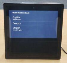 Amazon Echo Show (1st Generation) Smart Speaker with Alexa Assistant (Black)