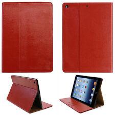 """Premium Cover Apple iPad Air 1 9,7"""" Tablette Housse De Protection Case Sac PU Cuir Rouge"""