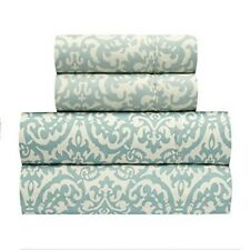 Traditions by Waverly Duncan Spa Sheet Sheets Set Queen Size