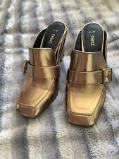 Next Gold Shoes Size 4