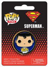 OFFICIAL DC COMICS SUPERMAN POP! HEROES PIN BADGE (NEW)