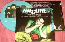THE CURE Pill Box Tales Unreleased Demo Tapes 1977-1986 CD 16 Rare Tracks LTD350