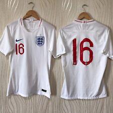 ENGLAND 2018 HOME FOOTBALL SHIRT SOCCER JERSEY NIKE PLAYER ISSUE #16 MATCH WORN?