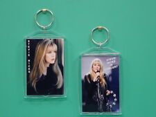 STEVIE NICKS - Fleetwood Mac - with 2 Photos - Collectible GIFT Keychain 01