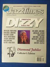 JAZZ TIMES MAGAZINE OCTOBER 1992 DIZZY GILLESPIE 75TH B-DAY FRIENDS TRIBUTE