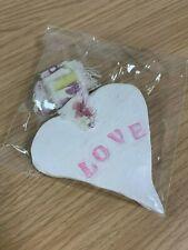 Handmade Decorative Love Heart Hanging - Autism Awareness