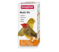 20mls Beaphar Small Birds Multi-vit Contains 12 Vitamins (Best Before 8/2020)