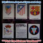 ☆ Panini - Fútbol Estrellas de la Liga 93/94 (1-99) *Please Select Stickers*