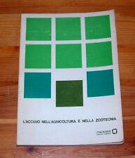 ITALSIDER ACCIAIO AGRICOLTURA ZOOTECNIA INGEGNERIA MACCHINE AGRICOLE TRATTORI