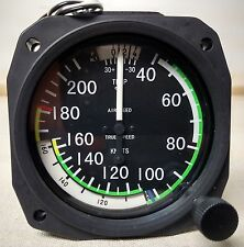 True Airspeed Indicator 40- 210 Knots - Lighted