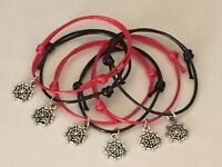 6 SPIDERMAN FRIENDSHIP SPIDER MAN THEME BRACELETS PARTY BAG FILLERS  PRIZES