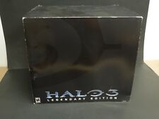 HALO 3 LEGENDARY EDITION - MASTER CHIEF HELMET, STAND, & GAME INCLUDED!