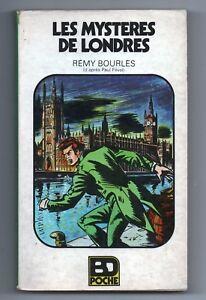 Bourlès. Les Mystères de Londres. BD Poche Glénat 1977. Broché.