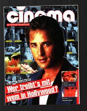 CINEMA 3/1990 Heft 142 Natalya Negoda, Sandrine Bonnaire, Filmplakatkarten