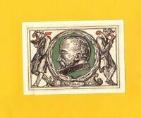 ARNSTADT (ALLEMAGNE) BILLET-MONNAIE de NECESSITE illustré ALEXIS à la Lecture
