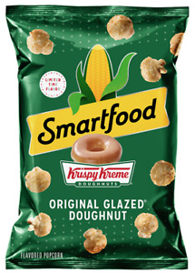 Snack Pack Smartfood® Krispy Kreme® Original Glazed® Doughnut LTO 2oz Popcorn