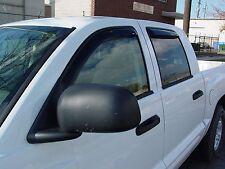 4-Piece In-Channel Wind Deflectors for 2005 - 2010 Dodge Dakota