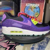 Nike Air Max 90 'Exotic Animal Pack - Violet Blend' - CZ5588 001- Size: Mens 9.5