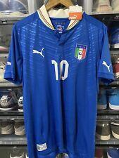 Puma Italy Antonio Cassano Home Jersey / shirt Euro 2012 sz L BNWT
